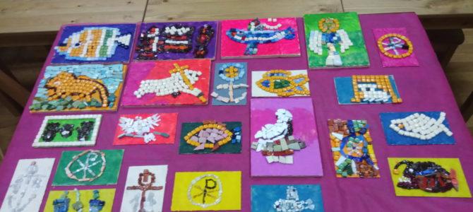 Мастер- класс «Церковная мозаика. Символические изображения первых веков христианства».