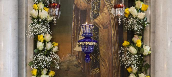 Престольный праздник — память прп. Пимена (9 сентября 2018)